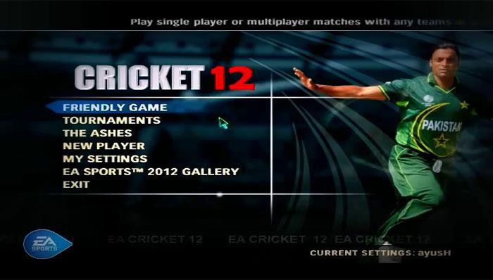 how to download ea sports cricket 2007 full version