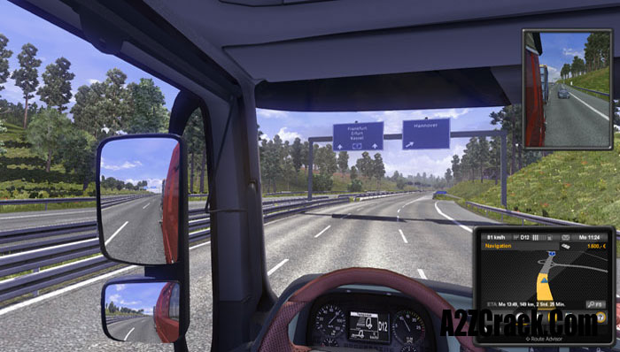 euro truck simulator 2 cd key provided by a2zcrack. Black Bedroom Furniture Sets. Home Design Ideas