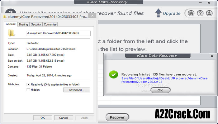icare data recovery software crack version