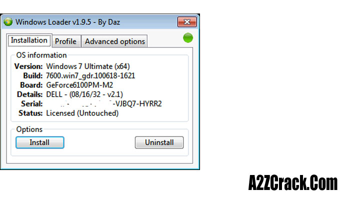 windows 7 activator  daz