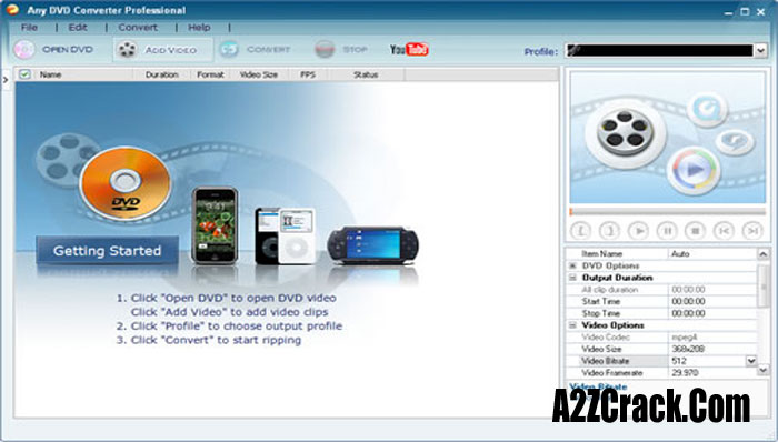 Any Video Converter Crack With Latest Update Download