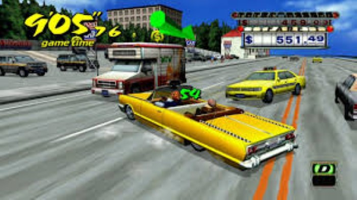 Crazy Taxi Game Free Download