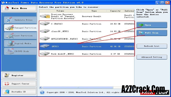 minitool power data recovery 6.8 serial key only