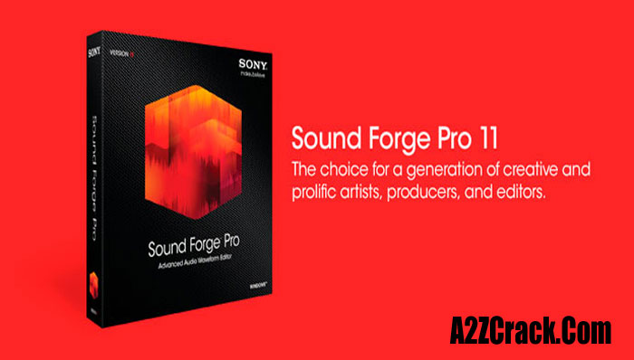 Sony Sound Forge 7.0 Free Download With Crack -