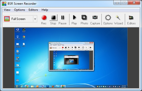 BSR Screen Recorder Serial