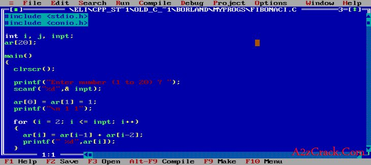Download Turbo C ++