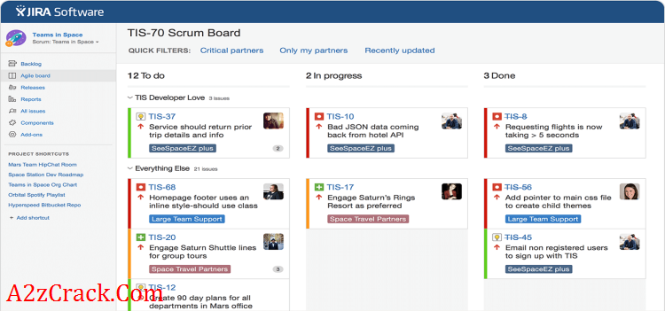 JIRA Bug Tracking Software