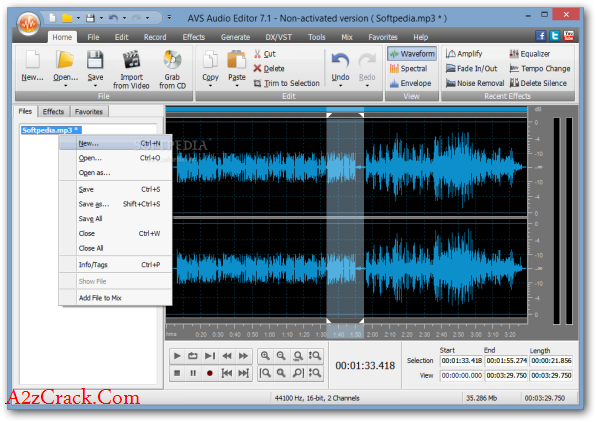 Avs Audio Editor 8 Crack Download Latest Version | A2zcrack