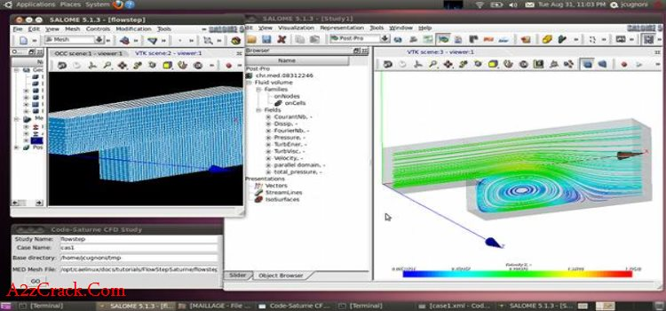 CAELinux Software