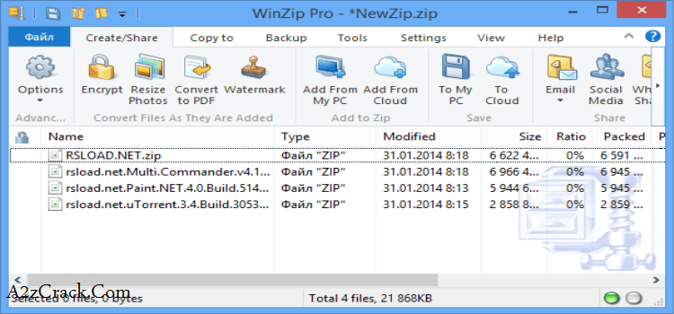 Winzip 15.5 registration