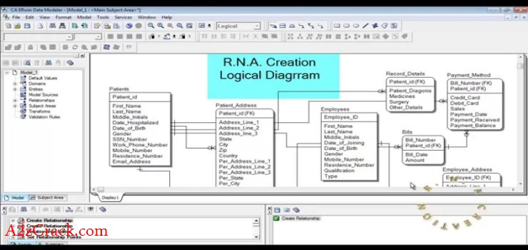 Erwin Data Modeler Download Free By A2zcrack