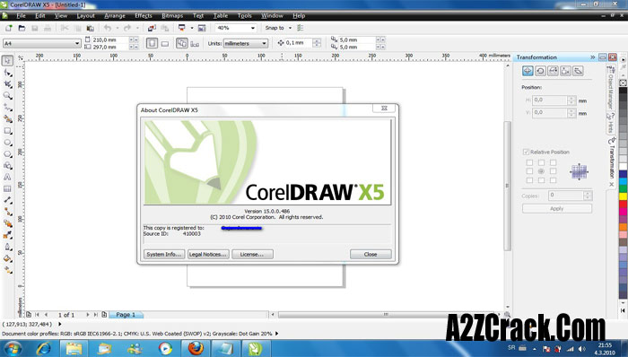 coreldraw graphics suite x5 purchase serial number
