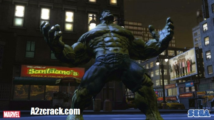 The Incredible Hulk Game