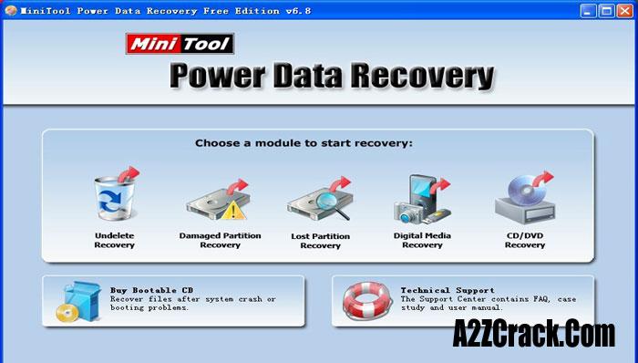 MiniTool Power Data Recovery 6.8 key