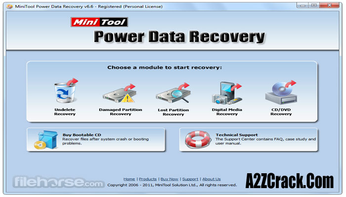 MiniTool Power Data Recovery 6.8 key
