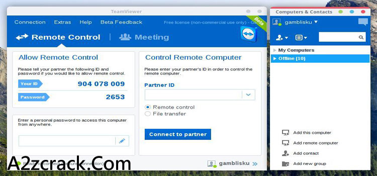 Teamviewer 10 License Code