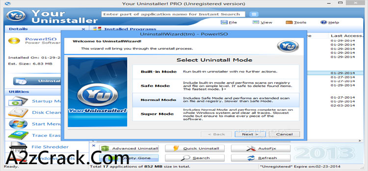 Your Uninstaller Key