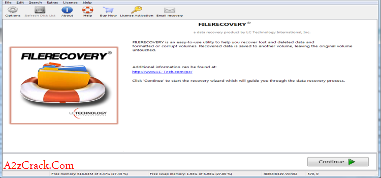 LC Technology File Recovery Crack