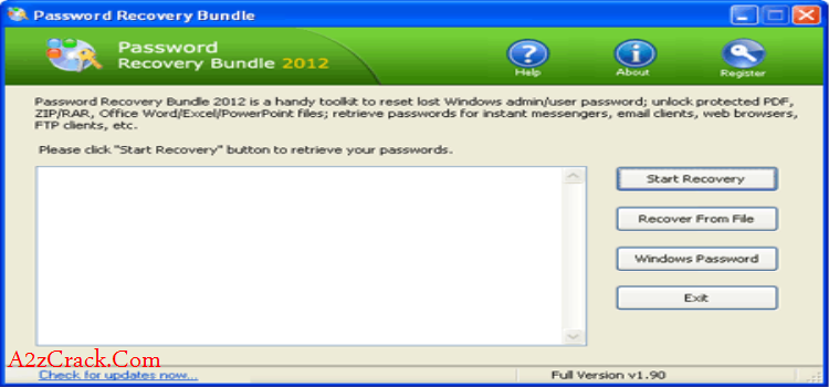 Password Recovery Bundle 2015 With Serial Key