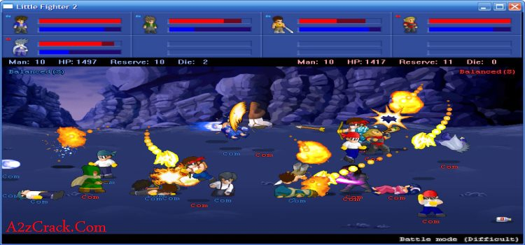 Little Fighter 2 Game