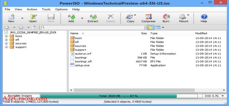 PowerISO v6.2.0.0 Full + Crack