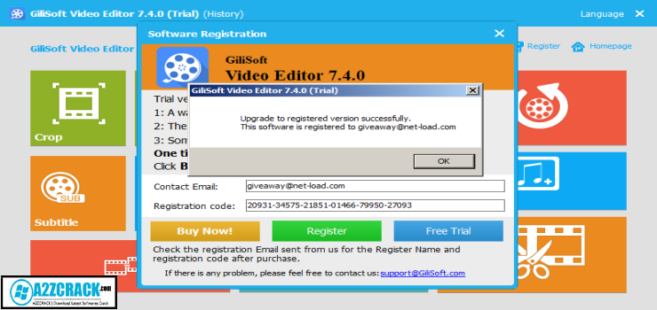 gilisoft video editor 7.4.0
