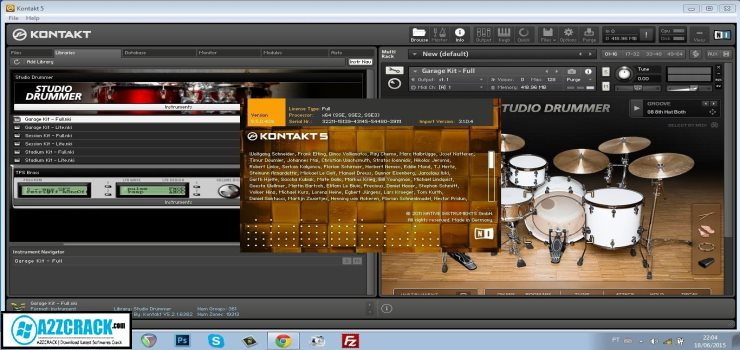 kontakt 5 library free download crack