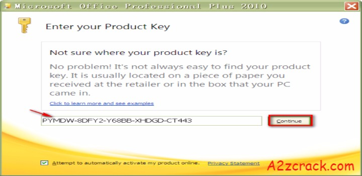 microsoft office 2010 crack without product key