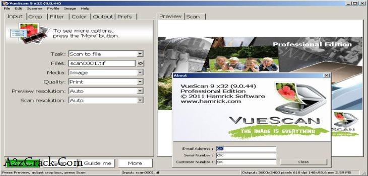 VueScan 9.5.52 Crack