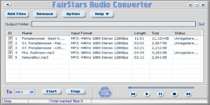 FairStars Audio Converter Crack