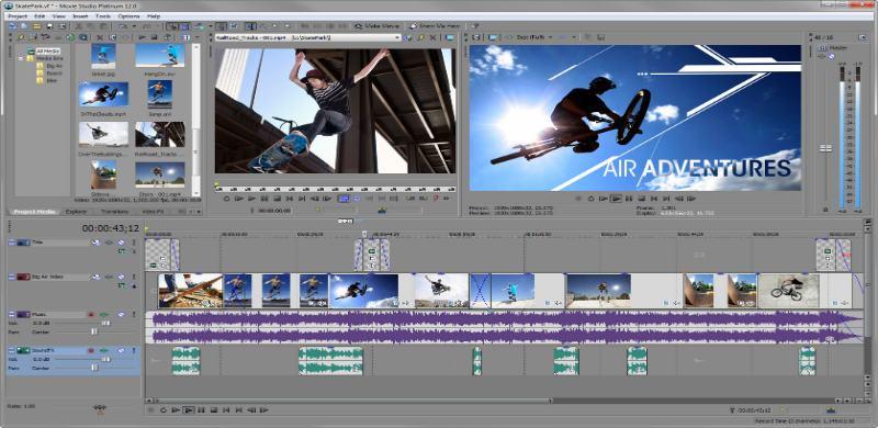 SONY Movie Studio Platinum 12 + KeyGen