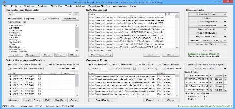 Scrapebox Latest Version Software Download | A2zCrack