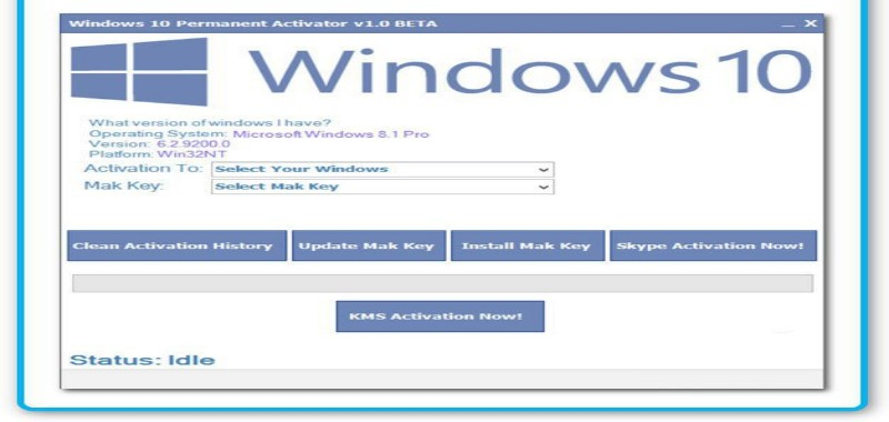 Windows 10 Permanent Activator Ultimate 2