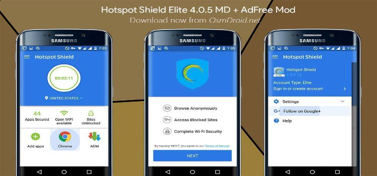 Hotspot Shield Elite Apk [Mod Version] Full Crack VPN Proxy
