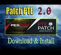 PTE Patch 2.0 :[PES 2017] Download + Install on PC [Latest] Here!