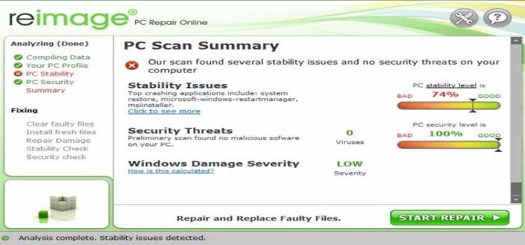 Reimage PC Repair Crack 2017