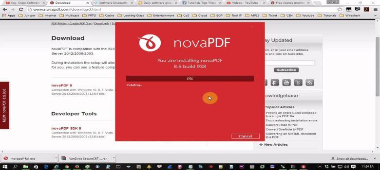 NovaPDF Pro v8.8.947 Full Version Download