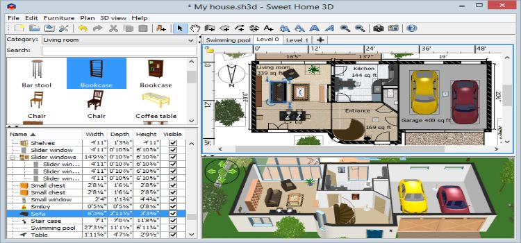 Sweet Home 3d 5 3 Free Download For Windows Here A2zcrack