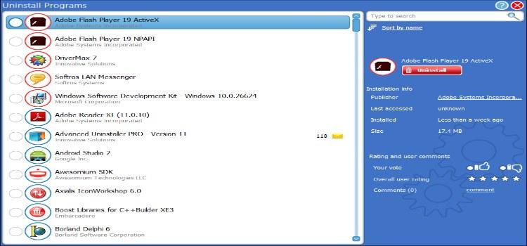 Advanced Uninstaller Pro v12.18 Full Version