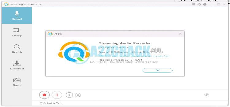 apowersoft streaming audio recorder crack download