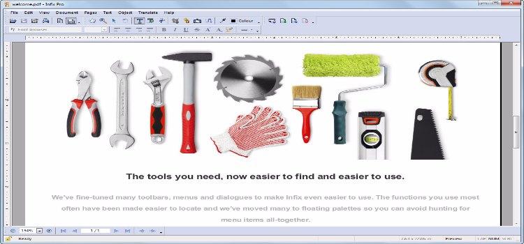 Iceni Technology Infix PDF Editor Pro 7
