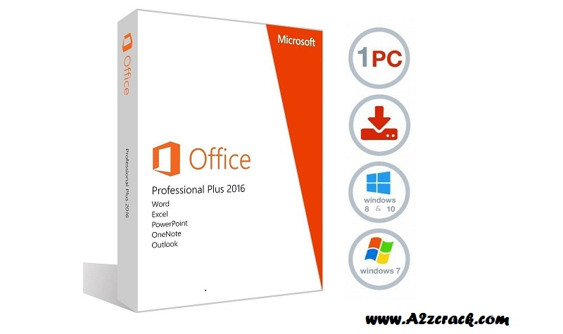 Office 2016 Pro Plus Free Download Latest Version 2018 | A2zcrack