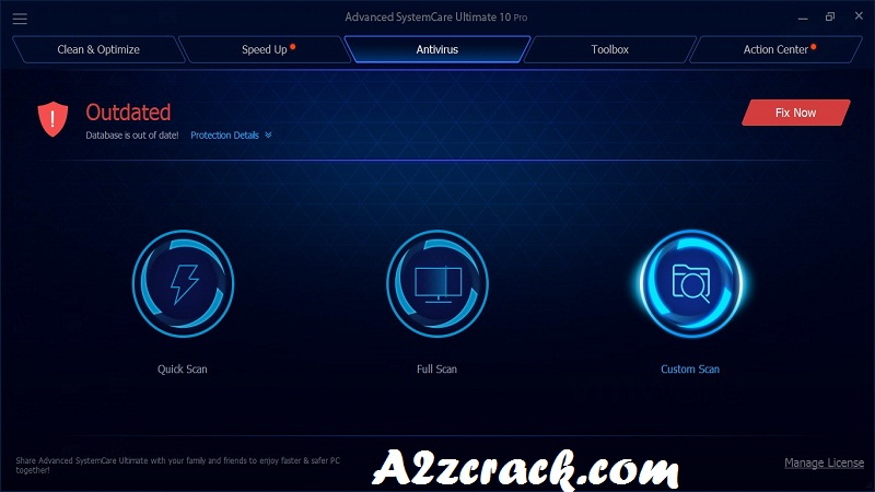 Advanced SystemCare Crack 17 Free Download [Latest] | A2zcrack