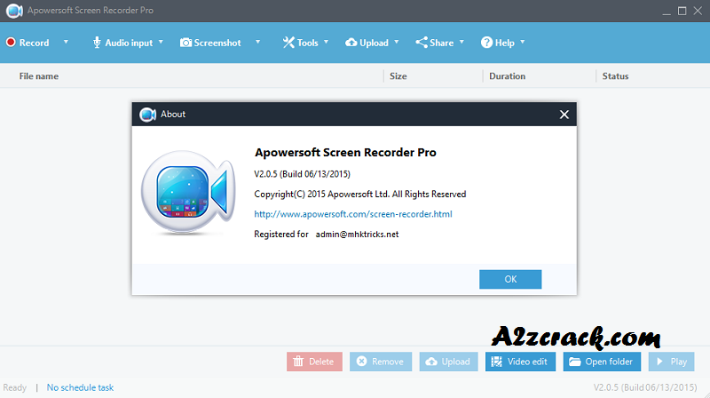 Apowersoft Screen Recorder Crack Free Download Here | A2zcrack