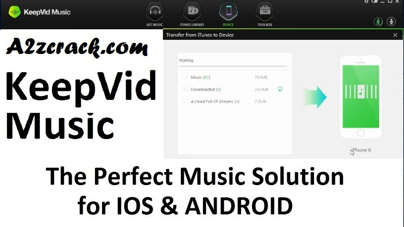 KeepVid Music Pro 8 Crack + Patch Free Download Here | A2zcrack