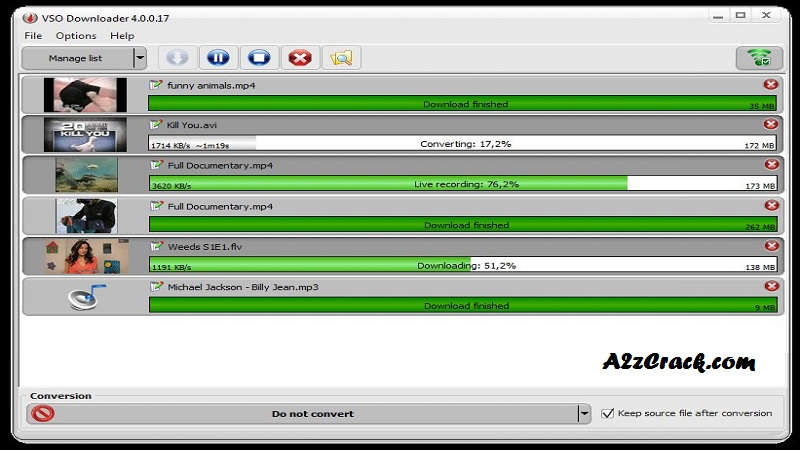 VSO Downloader Ultimate 5.0 Crack Free Download | A2zcrack