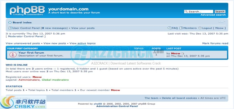 PhpBB v3.2.1 Download