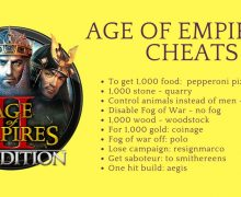 Age of Empires 2 Cheats 100% Working [Big List] 2018(Tested)