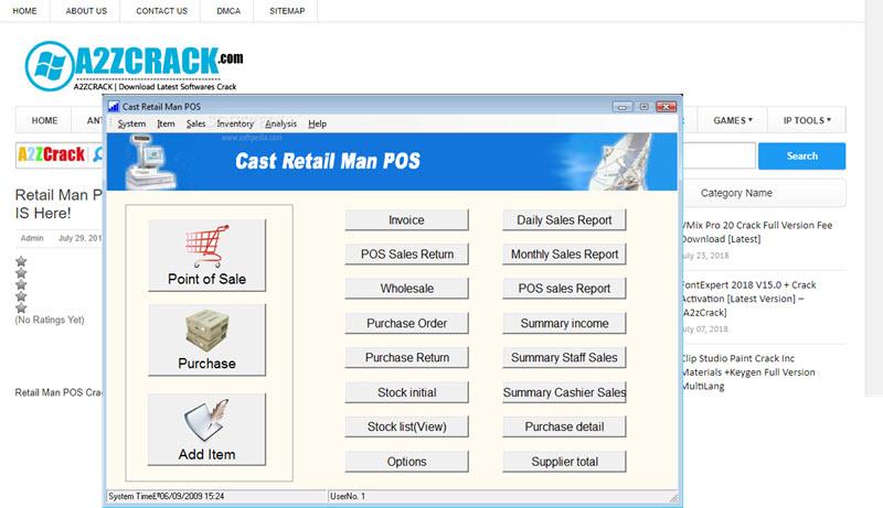 Retail Man POS Crack
