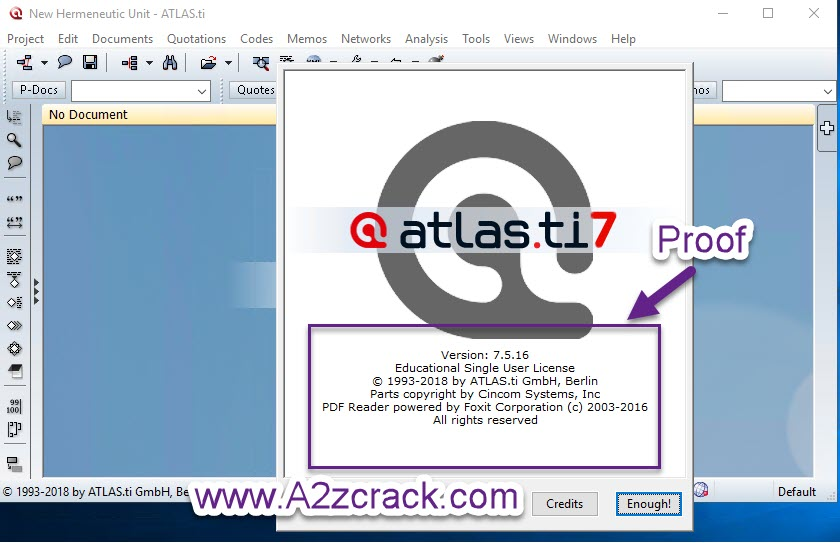 ATLAS.ti V7.5.16 Free Download Full Version